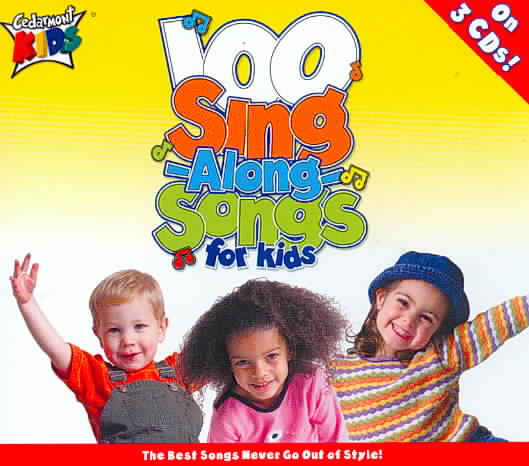 100 SINGALONG SONGS FOR KIDS BY CEDARMONT KIDS (CD)